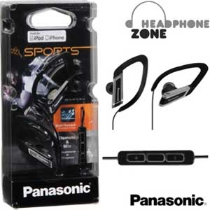 Panasonic Headphone with Mic & iPod Controller