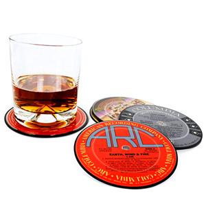 Vinyl Coasters - Set of 2