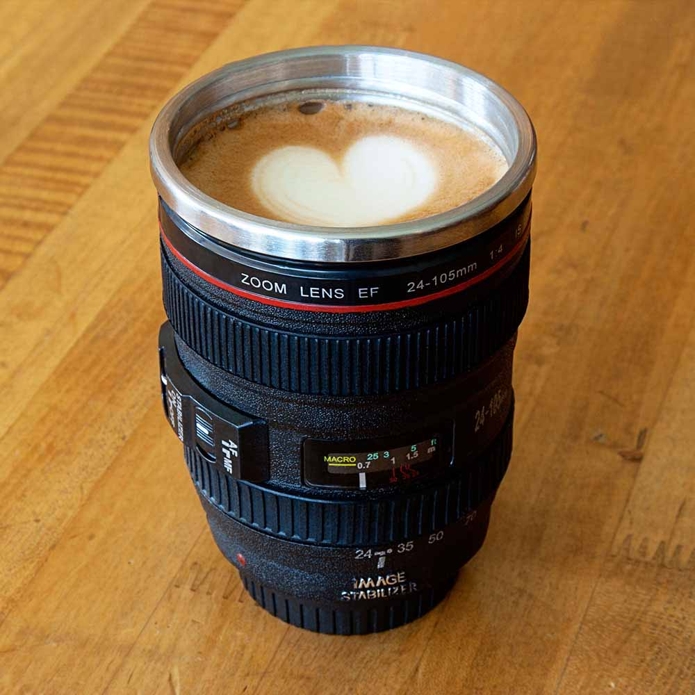 Exclusive Gifts-Lens Coffee Cup