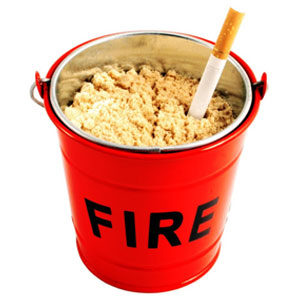 Fire Bucket Ash Tray