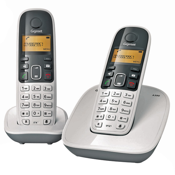siemens cordless phone gigaset a 490 duo india. Black Bedroom Furniture Sets. Home Design Ideas