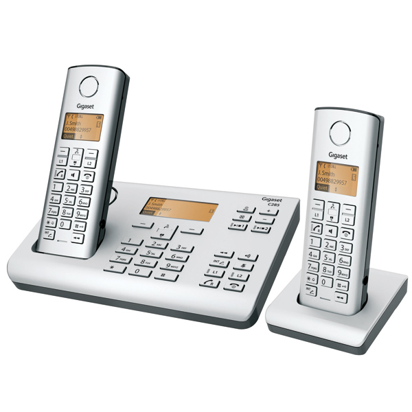siemens cordless phone gigaset c 285 duo india. Black Bedroom Furniture Sets. Home Design Ideas