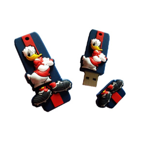 Microware Donald Duck Shape Pendrive