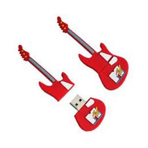 Microware Guitar Shape Pendrive