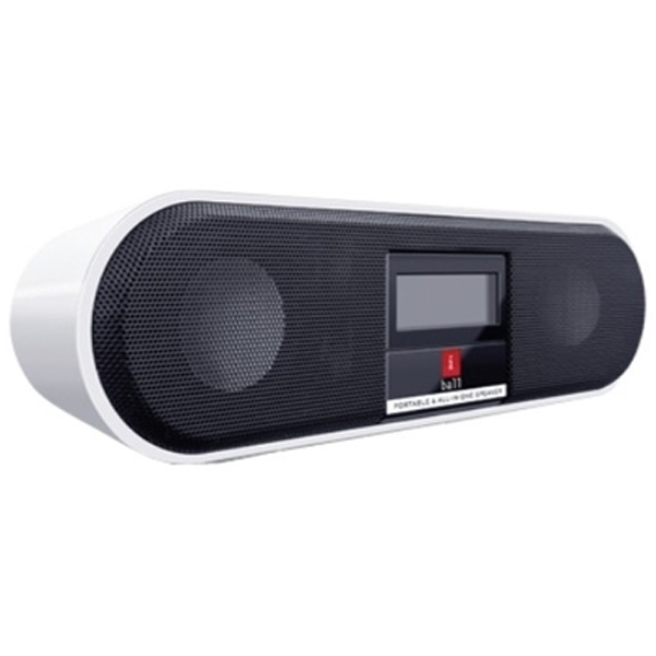 iBall Portable Speaker with FM and Alarm Clock - Music Boat