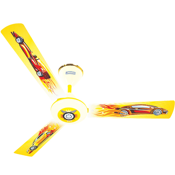 Luminous Play Ceiling Fan - Car