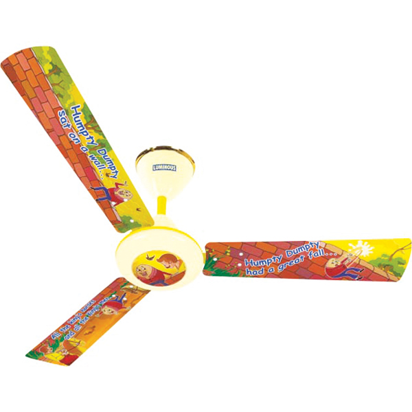Luminous Play Ceiling Fan - Humpty Dumpty