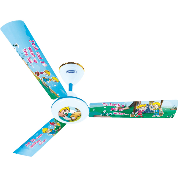 Luminous Play Ceiling Fan - Jack & Jill