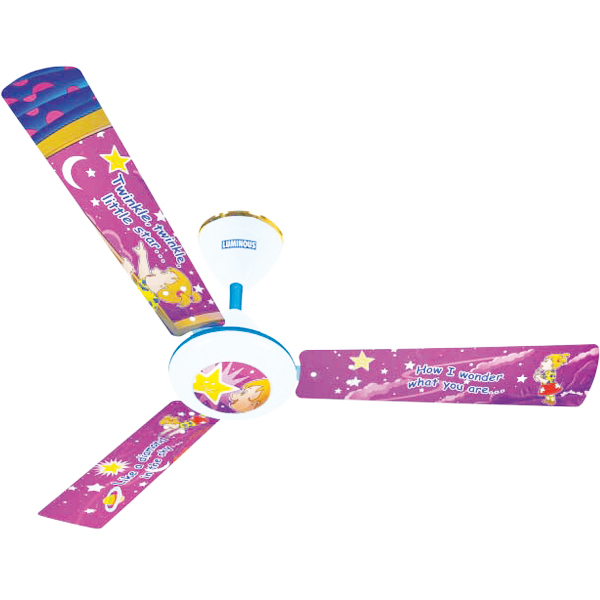 Luminous Play Ceiling Fan - Twinkle Twinkle