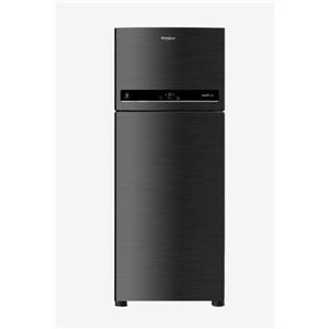 Whirlpool Double Door Refrigerator - IF 375 ELT CAVIAR BLACK(3S)
