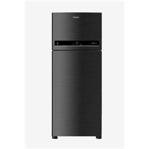 Whirlpool Double Door Refrigerator - IF 480 CAVIAR BLACK(3S)