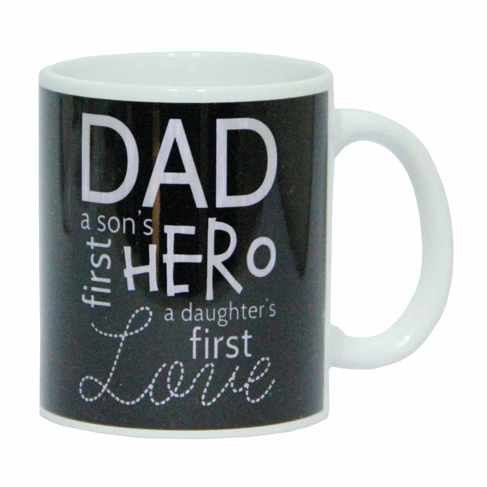 Dad is Hero Mug