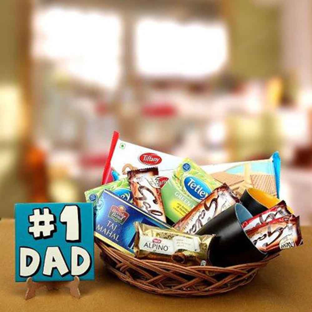 Father Day Basket Full Of Love