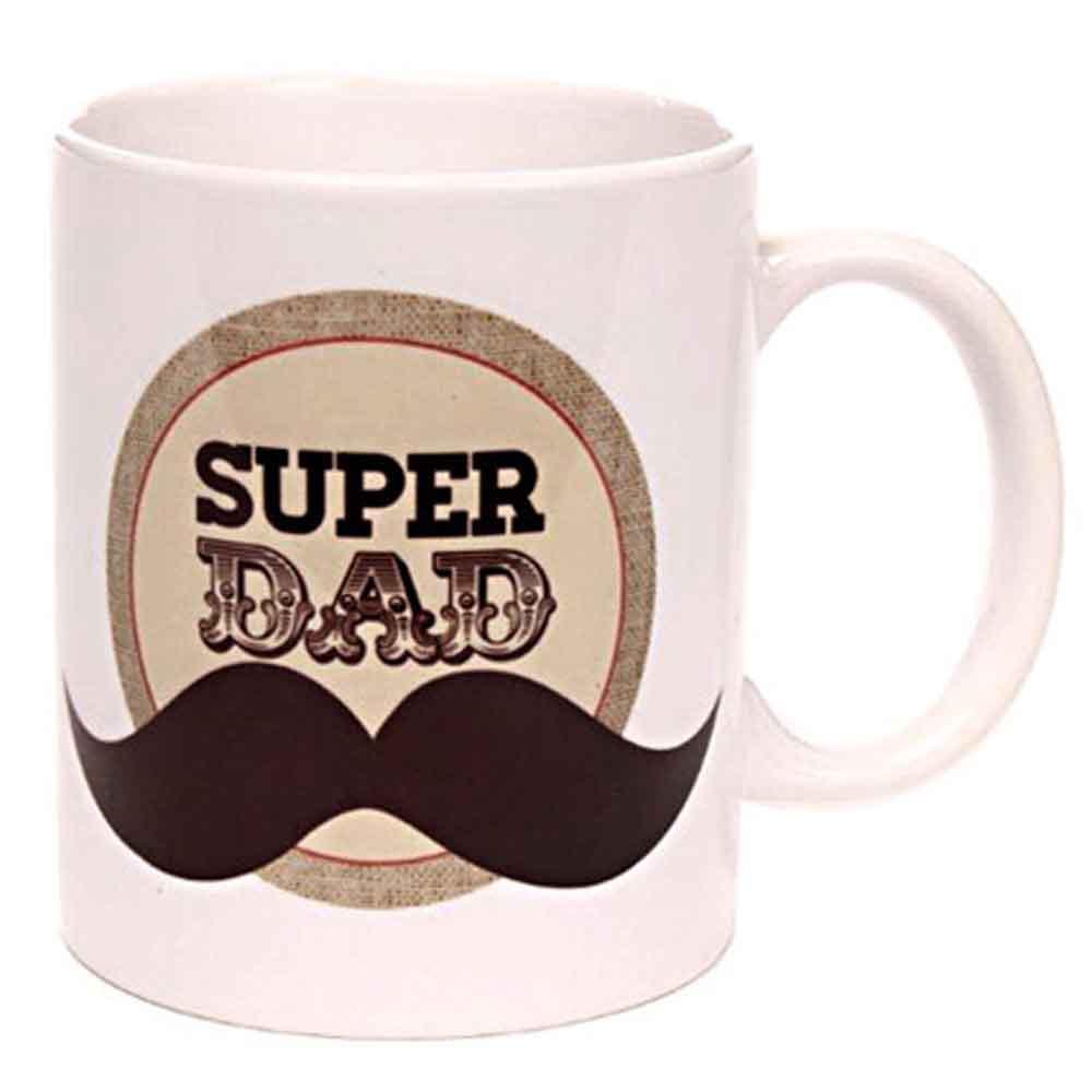 Father Day Super Dad Coffee Mug