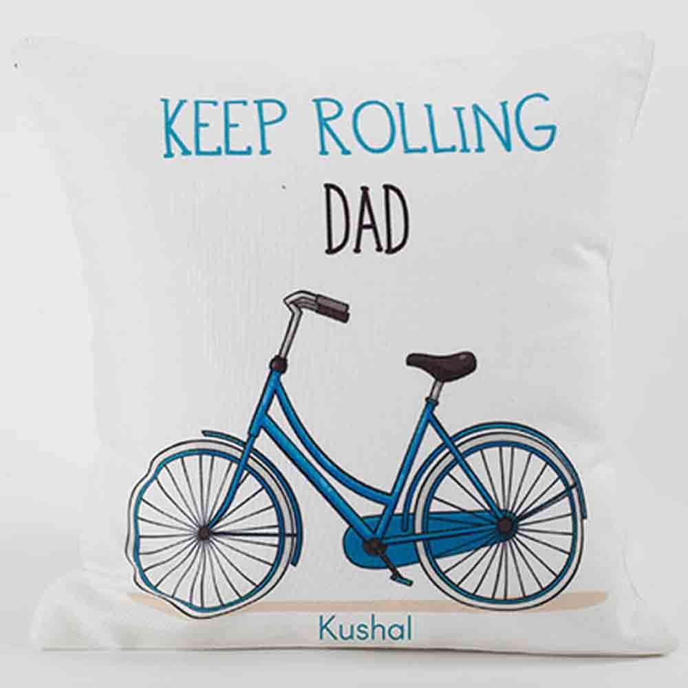 Personalized Cushion For Strong Dad