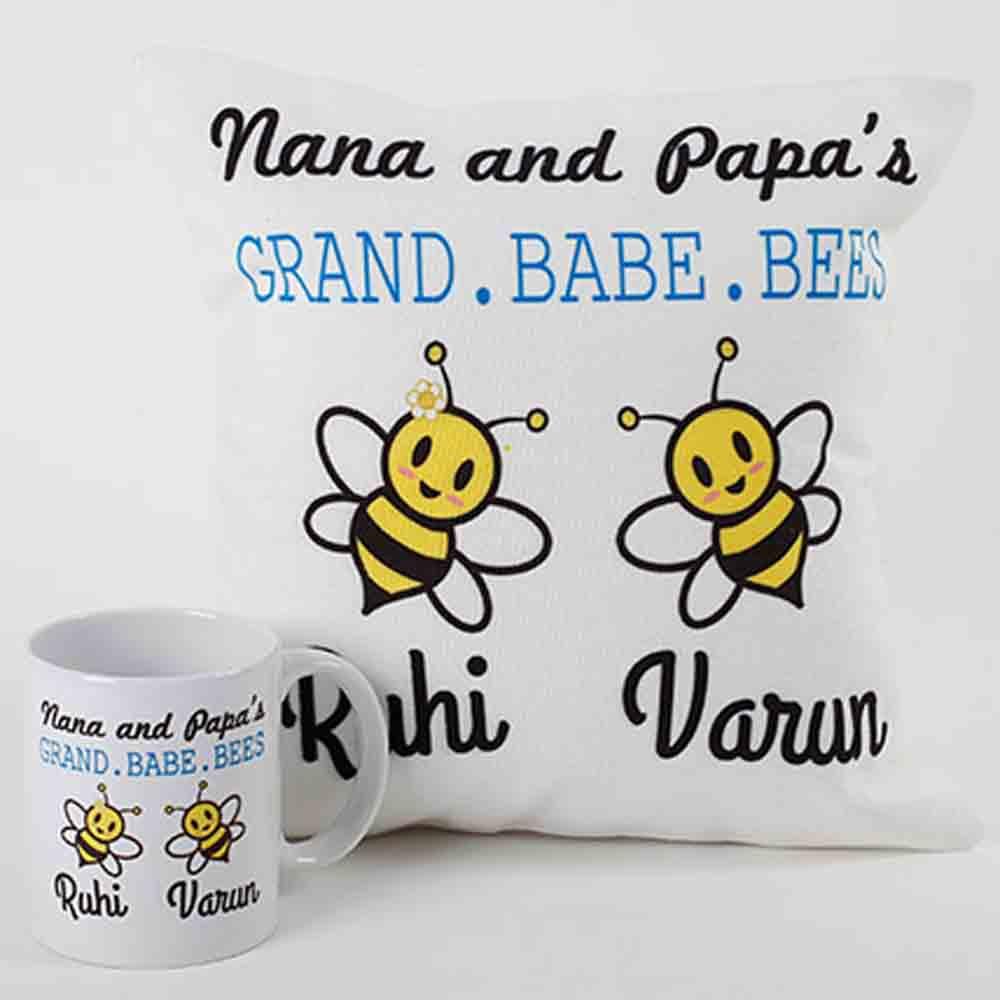 Adorable Mug And Cushion Combo