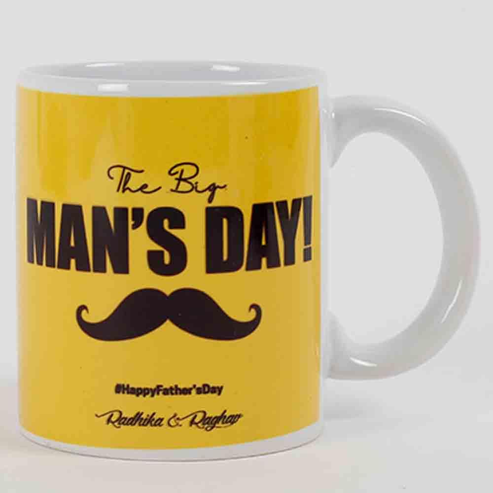 Big Mans Day Personalized Mug