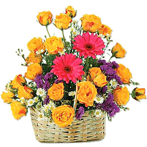 Flower Baskets-Best Wishes