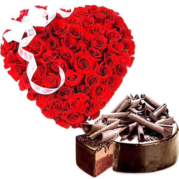Hearty Roses with Chocolaty Delight