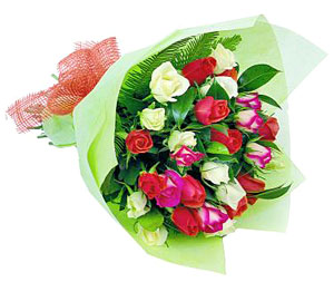 Mix Colored Roses-Love Forever