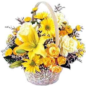 Flower Baskets-Sunshine Basket