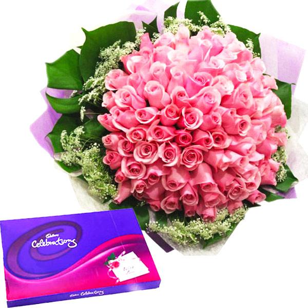 Pinky Roses Celebration