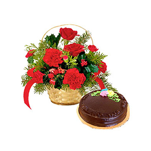 Cakes & Flowers-Chocolate Surprise
