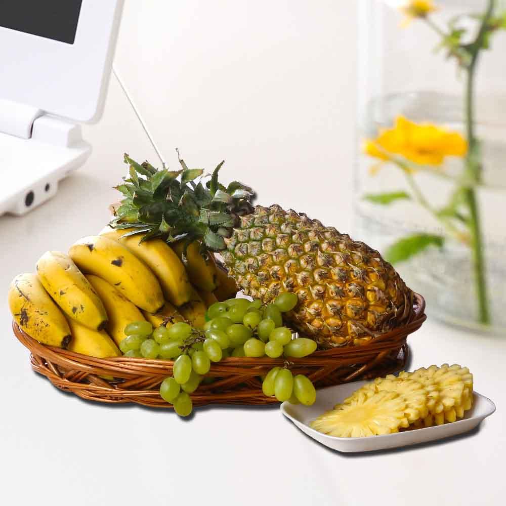 Fruit Hampers-Assorted Fresh Fruits Basket