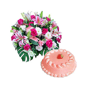 Cakes & Flowers-Pink Passions