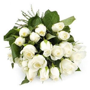 Mix Colored Roses-White Roses Bunch