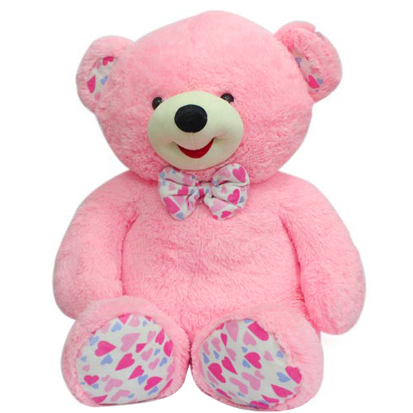 Stuffed Teddy Bear-Pink Teddy