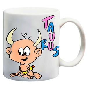 Mugs-Cute Taurus Mug