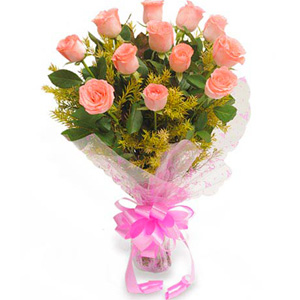 Mix Colored Roses-Pink Delight