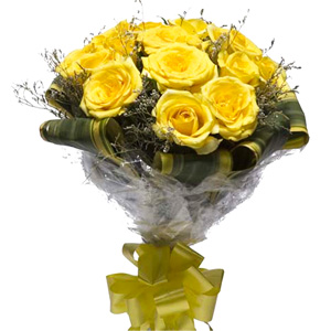 Mix Colored Roses-Yellow Delight