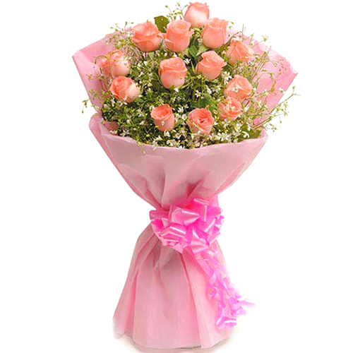 Mix Colored Roses-Blush