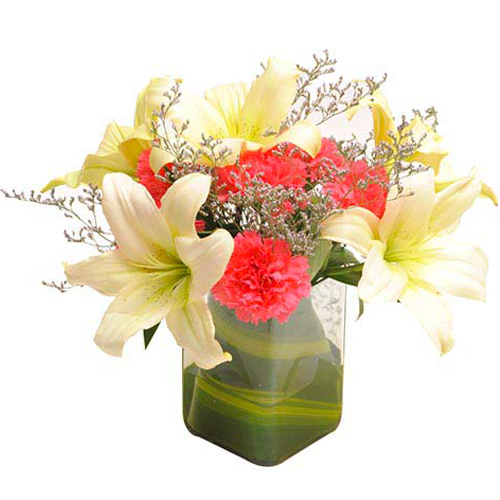 Vase Arrangements-Contemporary Elegance