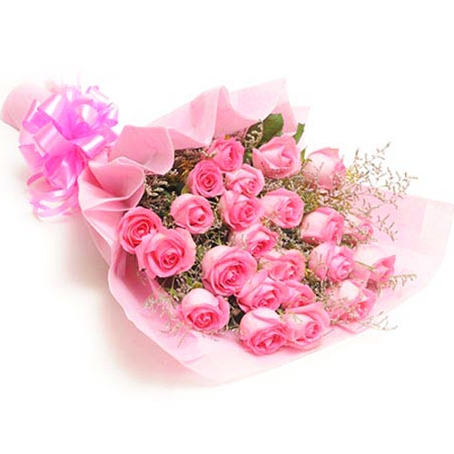 Mix Colored Roses-Sweet pink