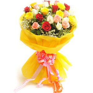 Mix Colored Roses-Bright Mix