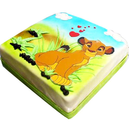 Simba Picture cake