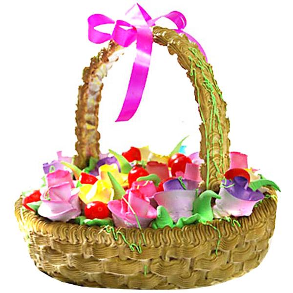 Basket of Love Cake