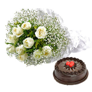 Cakes & Flowers-Delicious and Elegant Treat
