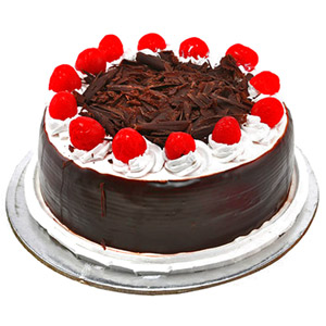 All India Cakes-Black Forest With Cherry