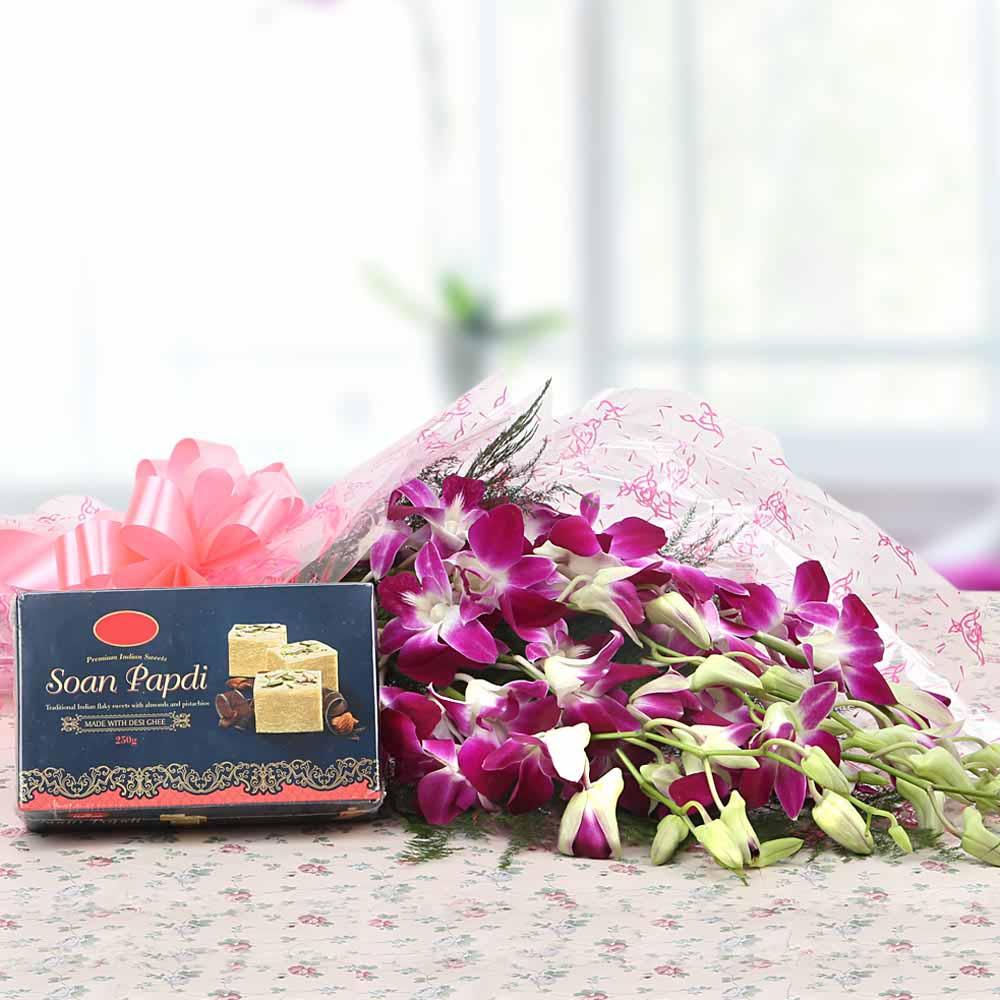 Flowers & Mithai-Surprise Shot
