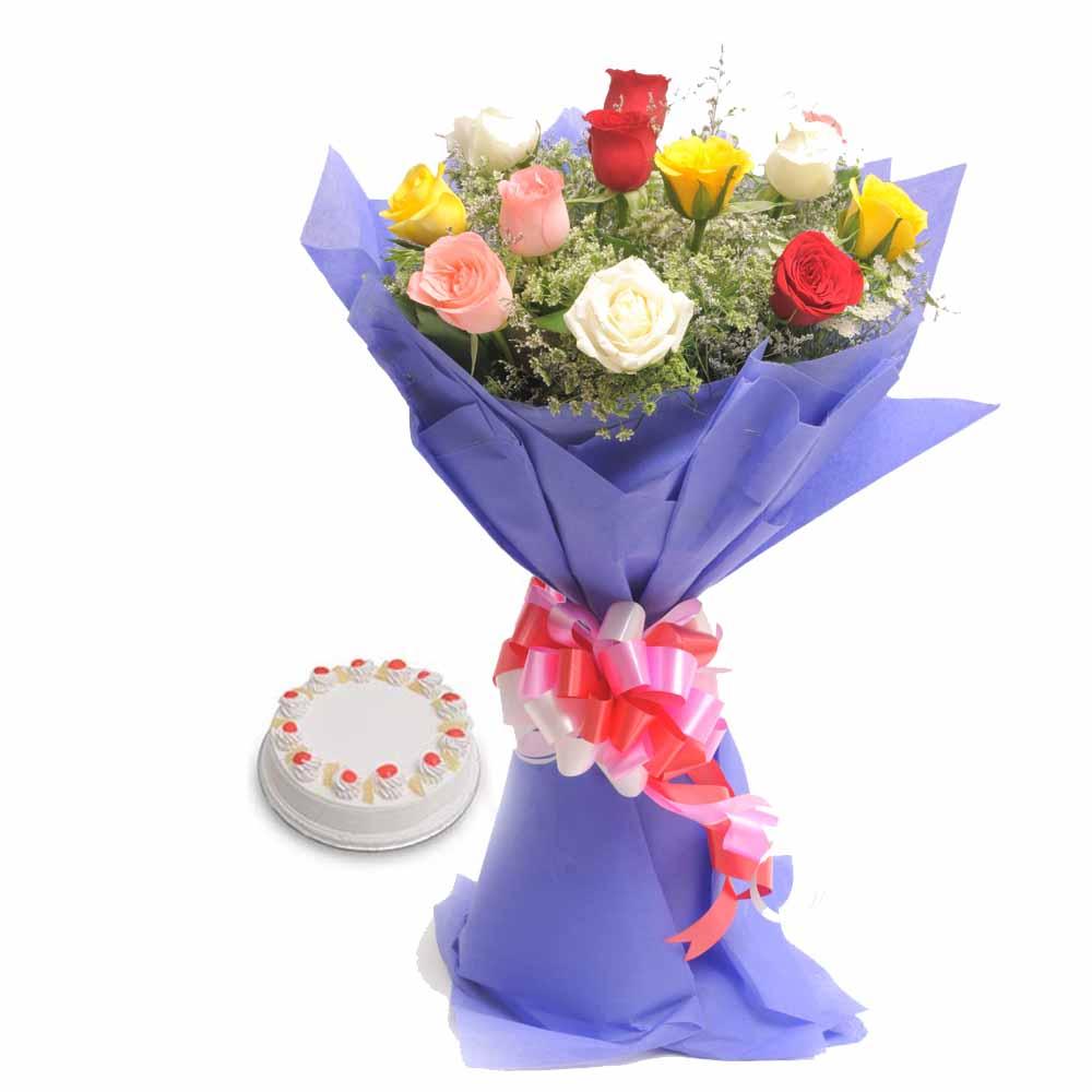 Mix Flowers n Cake