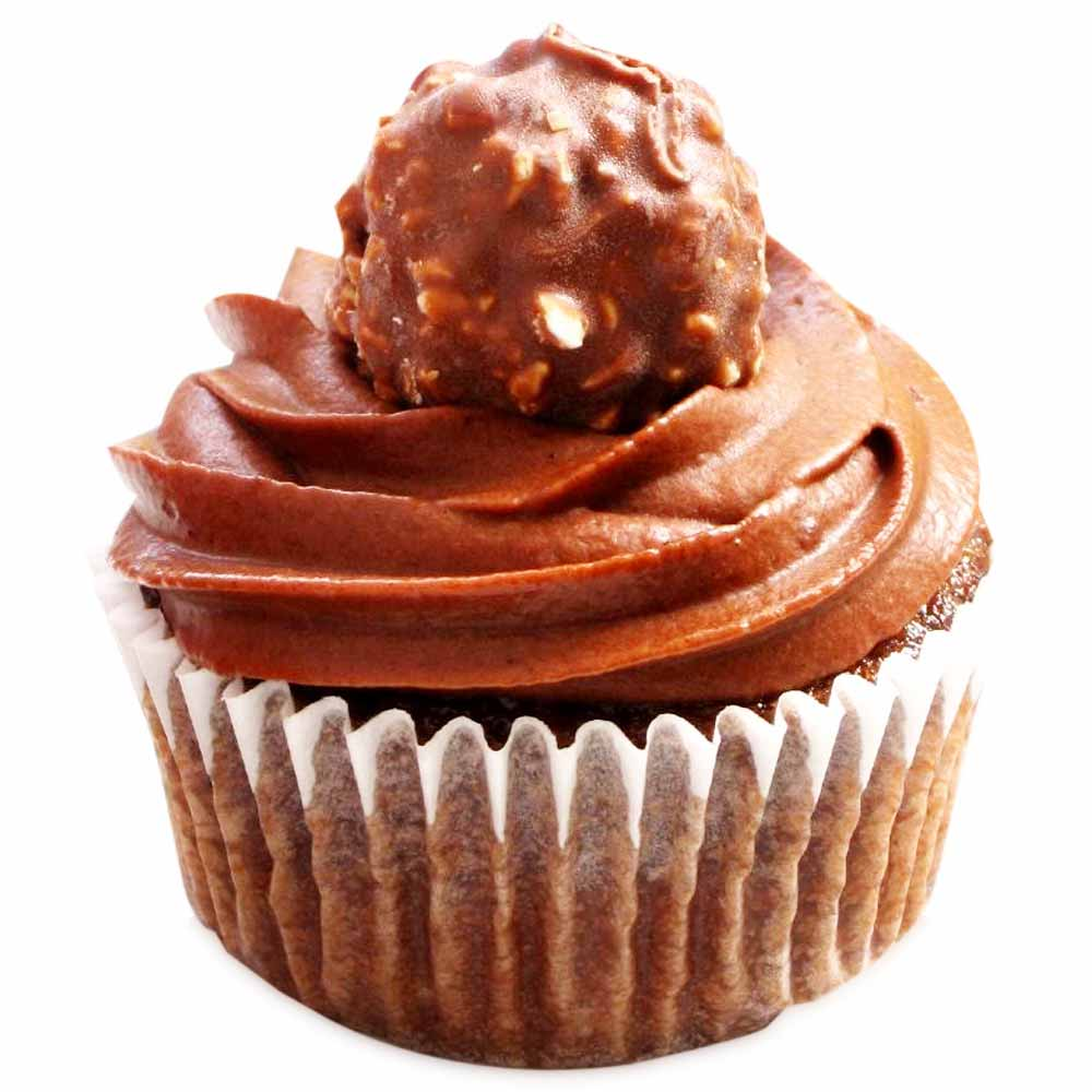 Ferrero Rocher Dream Cupcakes