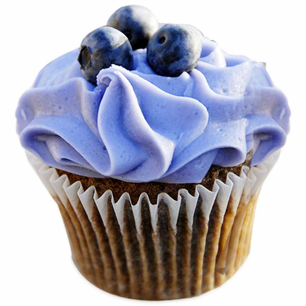 Blue Berry Cupcakes