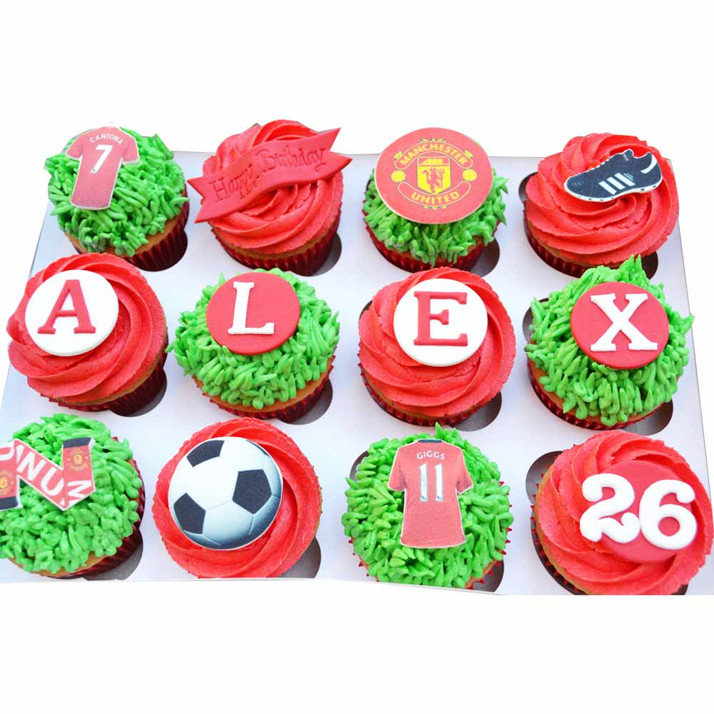 Football Special Cupcakes
