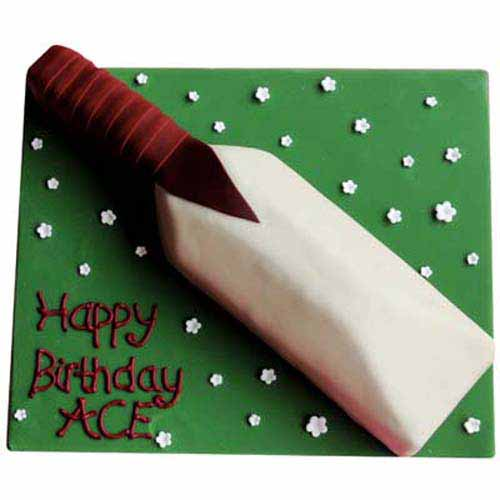 Cricket Bat Cake 2 kg