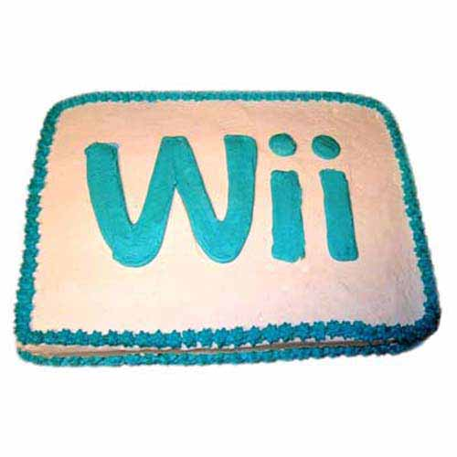 Wii Engaging Logo Cake 2kg
