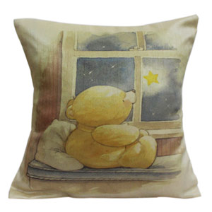 Super Soft Teddy Cushion